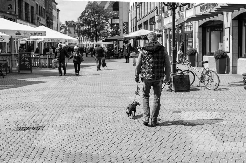 Streetfotografie in Schwarz/Weiß