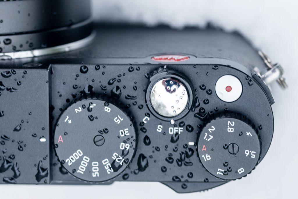 Einstellräder der Leica X