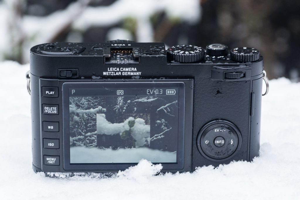 Die Sucherlupe der Leica X