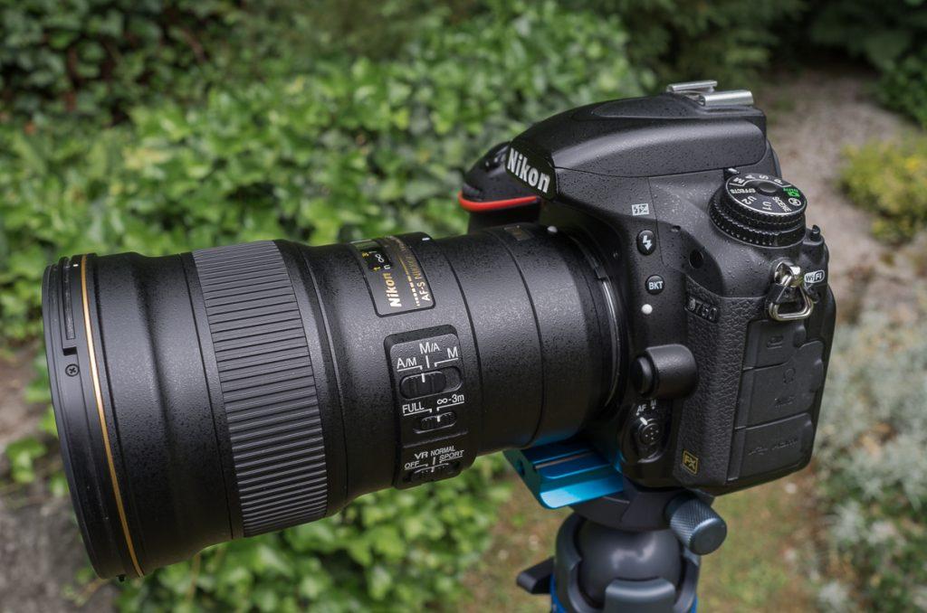 Nikon 4/300mm PF an Nikon D750