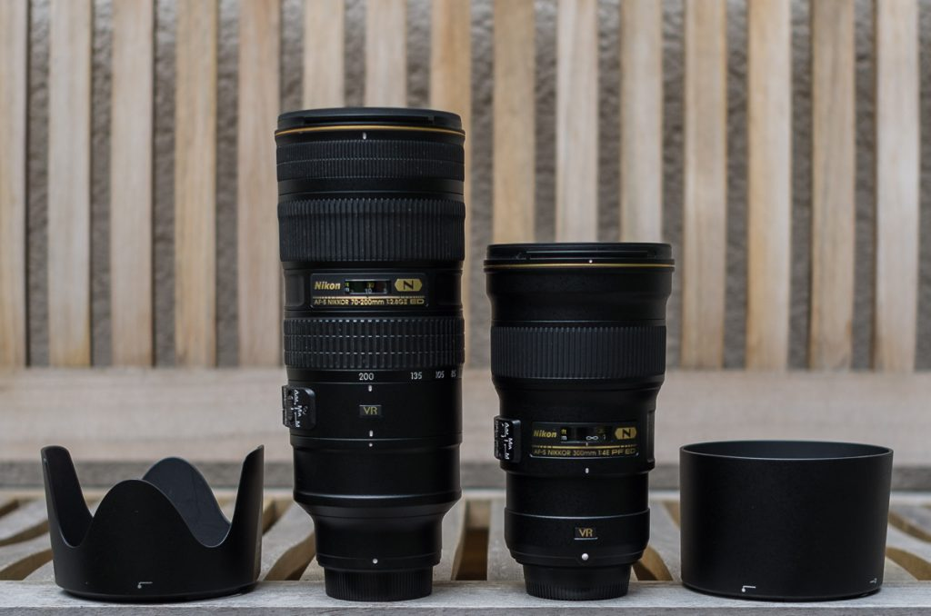 4/300mm PF vs. 2,8/70-200mm VRII